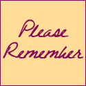 pleaseremember